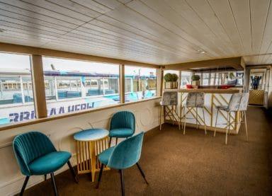 Теплоход Амели - фото нижней палубы
