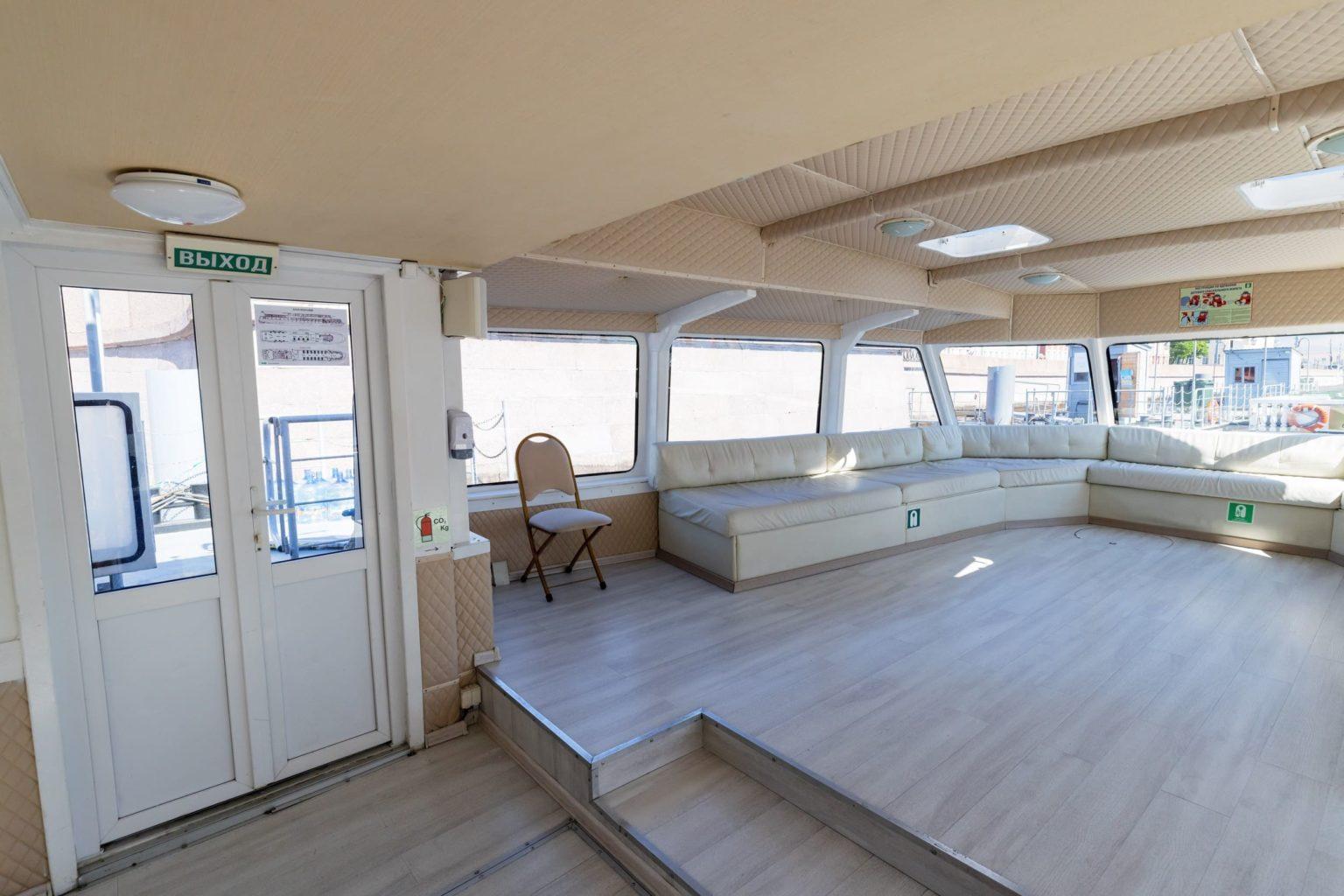 Теплоход Гранд Марин - фото верхней палубы