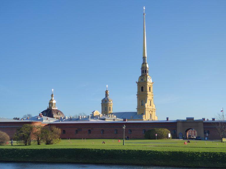 sunny day in Saint Petersburg